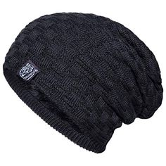 500f13c8640 Great for YSense Mens Winter Warm Slouchy Long Oversized Beanie Baggy Hat  Fleece Lined Knit Skull