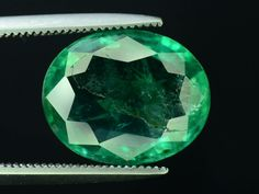 natural top green Stupendous EMERALD ZAMBIA 2.20 carats ask for video transparent