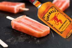 Fireball Drinks, Fireball Recipes, Fireball Whiskey, Alcohol Drink Recipes, Whiskey Cocktails, Bourbon Drinks, Punch Recipes, Frozen Drinks, Frozen Desserts