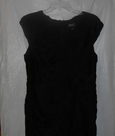 ADRIANNA PAPELL EVENING Black Semi-Formal Size 14 Dress Party Cocktail #AdriannaPapell #CocktailDress