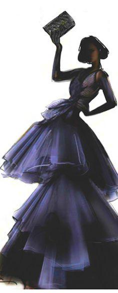 Christian Dior ~ Iɭɭųʂʈɽaʈ¡oŋ by Martine Brand