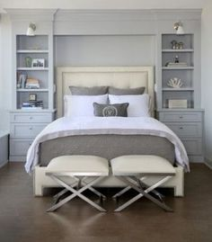 A Small Master Bedroom Doesn T Have To Be Problem Here Are 25 Beautiful Bedrooms Filled With Great Ideas For Making The Most Of E