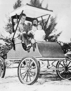 The LeBuff family in (l-r) Charles, Jean, Leslie and Chuck. Charles LeBuff built this antique car and the family used it on the beeches of Sanibel Island and to go to the General Store. Photograph courtesy of Charles LeBuff. Captiva Island, Old Images, General Store, Online Gifts, Best Memories, My Happy Place, Vintage Photographs, Sea Shells, Lighthouse