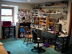 Artist's Studio - Christy Sherman - SkyGrazer Designs --- There's a lot of fun to be had in THIS studio!!!