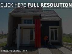 1536 desain pagar minimalis Desain Rumah Minimalis Tipe 45 Terbaru