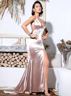 d07513ee534d Monique Luxe Gown. Mermaid Evening Dresses
