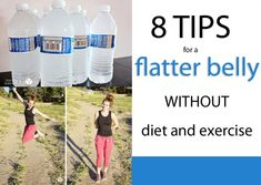 8 Tips For A Flat(ter) Belly Without Diet Or Exercise! howdoesshe.com