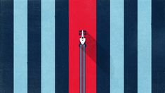 Awesome New Martini Advert Features Beautiful F1 Illustrations