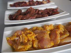 Je vous propose plusieurs marinades pour attendrir et donner du goût au bœuf, canard, poulet ou dinde pour votre pierrade ou plancha.
