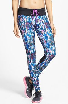 stand out #supporteverymove C & C California 'Velocity' Printed Tights   Nordstrom
