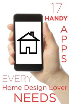 17 Handy Apps Every Home Design Lover Needs....too bad most of these cool apps are only on Iphone ;(