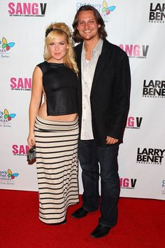 Performers Cherish Lee and Tim Foust arrive to 'I'm With The Band' live celebrity karaoke benefit for Children's Hospital Los Angeles presented by. Home Free Vocal Band, Childrens Hospital, Music Bands, Karaoke, Benefit, Celebrity, Skinny Jeans, Stock Photos, Live