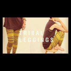 J'adore Tribal leggings  perfect for fall  #audrey3plus1 #style #ootd #fashion #leggings - @audrey3plus1- #webstagram