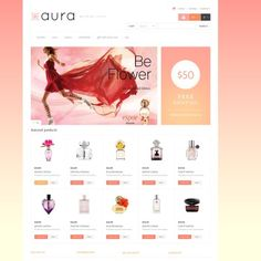 Responsive Perfumes Store Responsive PrestaShop Theme