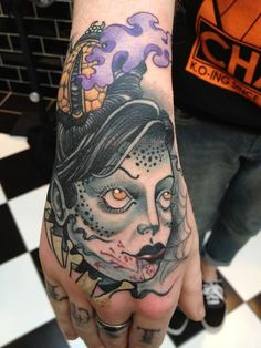 My new tattoo by Steve Vinall @The Family Business, is the start of a vampire sleeve, can't wait to go back for more!