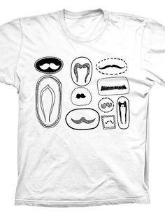 f5a6db70e Moustache Gallery T-Shirt - This one s pretty self-explanatory. A bunch of