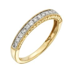 14K Yellow Gold/4 CTTW Wedding Band - JCPenney