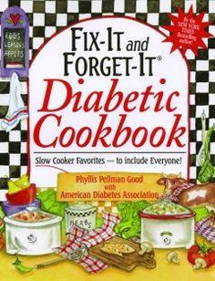 I have yet to find a diabetic cookbook I can truly embrace....