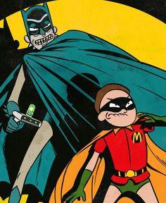 Rick & Morty x Batman & Robin Rick And Morty Quotes, Rick And Morty Poster, Batman Robin, Iphone Bleu, Rick I Morty, Ricky And Morty, Cartoon Crossovers, Animation, Cultura Pop