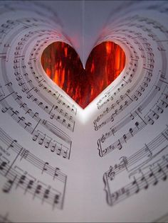 Fill my heart with song, let me sing forever more. You are all I worship, all I long for, and adore. In other words, please be true, in other words, I love you! (Sinatra) - thank you for the music!