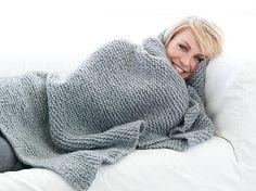 Arya Big Decke - - Kostenlose Strickanleitung von Magdalena Neuner