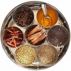 masala dabba spice canister