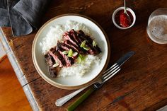 Vietnamese Sugar Steak recipe: A delicious marinade of fish sauce, brown sugar, lime, and garlic. #food52