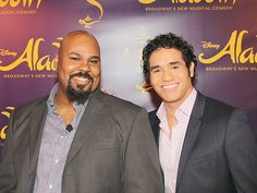 Meet Adam Jacobs, Courtney Reed the Cast of Aladdin on Broadway