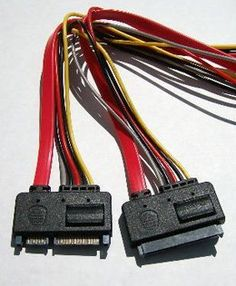 SATA 22-pin Male to Female 20 inch Power and Data Extension Cable by Vaster. Save 79 Off!. $4.99. 20 inch 22 pin male to female power and data sata adapter custom cable. SATA Extension Cable Male to Female All 15-Power and 7-DATA Pins Extended (22-Pins total) 22 pin male to female SATA adapter. Great for backplane adapter. Great for a SATA Internal to External extension Usage. Pin 1 to Pin 1 Data cable may come in yellow or red. Cables are 100% tested.