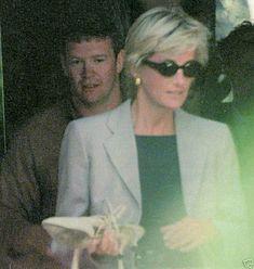 Princess Diana with Al Fayed bodyguard Trevor Rees Jones