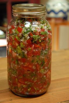 My usual fermented salsa recipe. So simple, so fast and so superior in flavour and health benefits to any shop bought varieties.