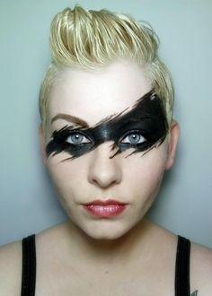 villain makeup mask