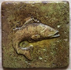 6x6 Accent Tile  Fish  More colors available by GrandSpaces, $10.00