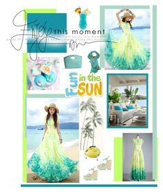 """Last Set for Summer!"" by dreamer1983 ❤ liked on Polyvore featuring Cotton Candy, J. Furmani, UGG Australia, Paloma Barceló and Pier 1 Imports"
