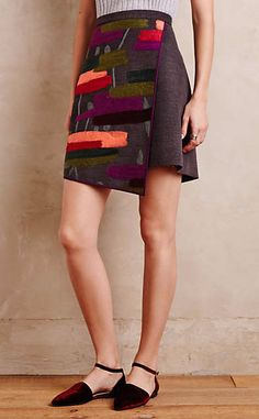 Casia Wrap Skirt #anthroregistry
