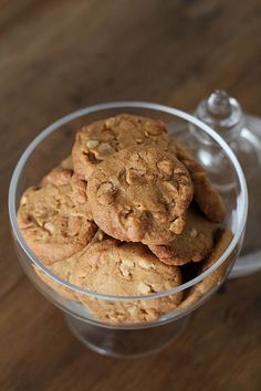 Cookie Recipes, Peanut Butter, Cereal, Cookies, Baking, Breakfast, Desserts, Koti, Recipes For Biscuits