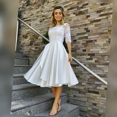 Lace Dress, White Dress, Designer Party Wear Dresses, Church Outfits, Feminine Style, Bridal Dresses, Beautiful Dresses, Party Dress, Fashion Dresses