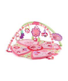 Take a look at this Pretty In Pink Giggle Garden Activity Gym by Bright Starts on #zulily today!
