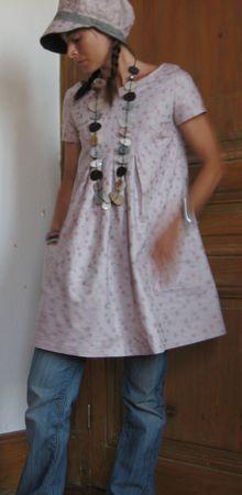 """Modèle E du livre 64 """"Otona Stylish Dress Book"""", , Grains de Maïs"""