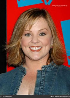Melissa Mccarthy New Short Long Bob Hairstyles Pictures Shoulder Length And Outward Curled Hairstyle For The Women