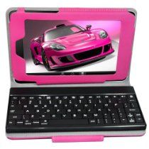 Nexus 7, Bluetooth Keyboard, Google Nexus, Protective Cases, Red Roses, Pu Leather, Android, Amazon, Detail