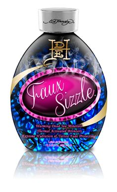 Ed Hardy Tanning - Faux Sizzle - Thermal Active Blend – Increases microcirculation in the skin for deeper darker results. Contains Dead Sea Mineral Complex How To Get Tan, Dead Sea Minerals, Beauty Skin, Christmas Bulbs, Perfume Bottles, Skin Care, Lotions, Billionaire
