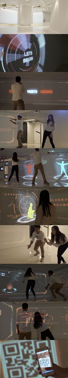 Interactive Wall M21 Project 2015 Exhibition: Interactive Wall M21 Project 2015: The objective of the project was to promote the message of M21. Adding 4 interaction games with a final result at the end that shows your strengths and weaknesses. Contact Email: taizeco1995@gmail.com