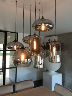 Most Beautiful Lighting Chandeliers For Your Home. We brought together the ideas of unique and beautiful lighting home deco from each other. With these lights, your home will look perfect. Everyone will be amazed at your home. Dining Room Light Fixtures, Dining Room Lighting, Kitchen Lighting, Home Lighting, Lighting Design, Lighting Ideas, Club Lighting, Lighting System, Industrial Lighting