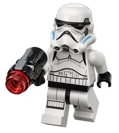 Amazon.com: LEGO Star Wars: Rebels - Stormtrooper Minifigure with Projectile Blaster from 75078: Toys & Games
