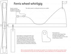 Free Patterns and ideas: Carnival Ferris wheel whirligig