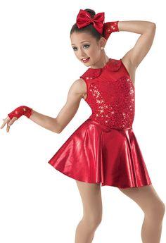 Weissman™ | Metallic-Neoprene Skater Skirt Dress