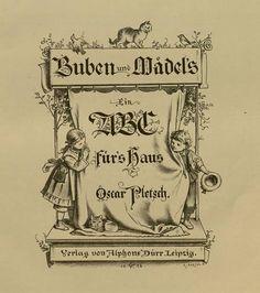Soloillustratori: Un vecchio alfabeto tedesco
