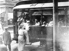 """""""Street Cars Are Running to the Fair. First Bus, Car Barn, Roller Coaster Ride, Car Travel, Historical Photos, Calgary, The Past, Coaches, Street"""