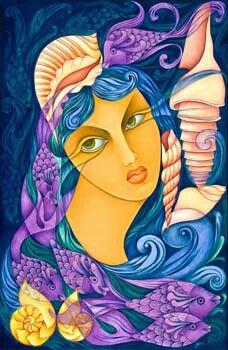Yemayá Art by Molina